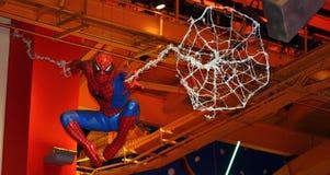 Spindel-man Arkivbild