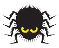 Spindel och cobweb vektor illustrationer