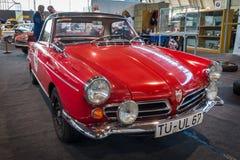 Spindeln för sportbilen NSU samlar (498 cc den enkla rotoren Wankel), 1967 Fotografering för Bildbyråer