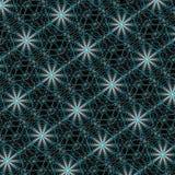 Spindelväv sömlös abstrakt vektormodell som upprepar invecklad bakgrund Royaltyfri Foto