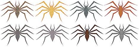 spindlar stock illustrationer
