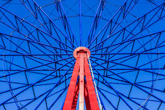 Spindle of Ferris Wheel Royalty Free Stock Image
