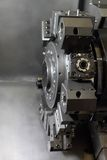 Spindle modern machine tool. Stock Image
