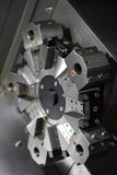 Spindle modern machine tool. Stock Photos