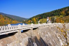 Spindleruv Mly in Giant  Mountains, artificial lake Stock Photo