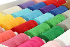 Spindles of yarn Royalty Free Stock Images