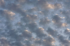 Spindrift clouds Stock Photography