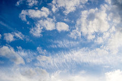 Spindrift clouds diagonal background stock photography