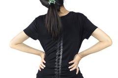 Spine bones injury royalty free stock images