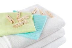 spine della lavanderia Fotografia Stock