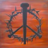 Spine di pace Fotografia Stock Libera da Diritti