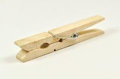 Spine di vestiti di legno   Immagine Stock