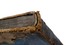 Spine of an old book Stock Images