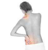 Spine problems Stock Photo