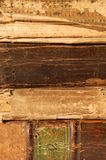 Spines of old books Stock Photography