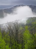 Sping landscape. Sping mountain landscape in krimea,Ukraine Stock Photo