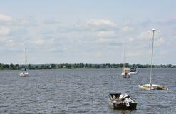 Sping på sjön Royaltyfria Bilder