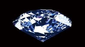 Spining diamant - ögla stock illustrationer