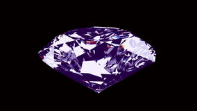 Spining diamant - ögla royaltyfri illustrationer