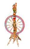 Spining-ruota antica fotografia stock libera da diritti