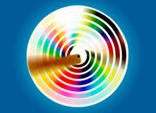 spining swatches pantone βιβλίων Στοκ Εικόνα