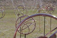 Spinkler decorativo dell'acqua Immagini Stock Libere da Diritti