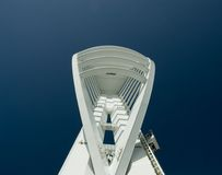 Spinnaker-Kontrollturm, Portsmouth Lizenzfreie Stockfotografie