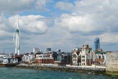 Spinnaker-Kontrollturm, Portsmouth Lizenzfreie Stockfotos