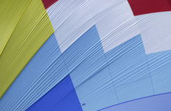 Spinnaker  sail detail. Multi coloured spinnaker  sail detail pattern Royalty Free Stock Images