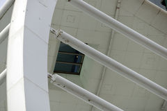 Spinnaker Tower detail. Portsmouth, England Stock Photo