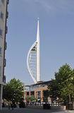 Spinnaker Tower. Gunwharf Quay. UK Royalty Free Stock Photos