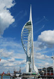 Spinnaker Tower, Portsmouth. Bright and sunny Spinnaker Tower, England Royalty Free Stock Images