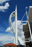 Spinnaker Tower, Portsmouth. Bright and sunny Spinnaker Tower, England Stock Photos