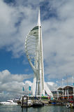 Spinnakertorn, Portsmouth Fotografering för Bildbyråer