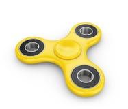 Spinnare av gul färg Arkivfoton