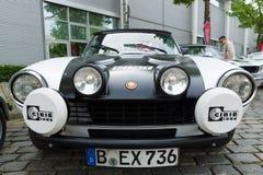 Spinne Sportauto Fiats 124 Stockfoto