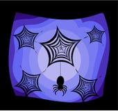 Spinnen Halloween stock illustratie