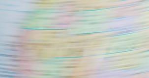 Spinnende bolkaart van Illinois de V.S. 4K stock videobeelden
