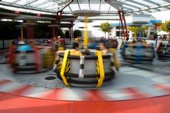 Spinnende Carrousel Stock Foto