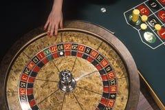 Spinnende Roulette Stock Afbeeldingen