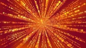 Spinnende Stralen van Gebieden op Billowed-Achtergrond Royalty-vrije Stock Afbeelding