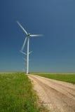 Spinnende Turbines Royalty-vrije Stock Foto