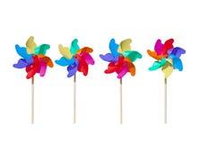 spinnende Windmühle Toy Concept der Kindheit 3D Stockfoto
