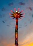 Spinnender Lichtmast 5 Lizenzfreie Stockfotografie