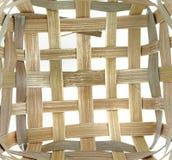 Spinnendes Bambusmuster Stockfotografie