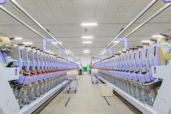 Spinnendes Betriebs-sachanlagen Stockfoto