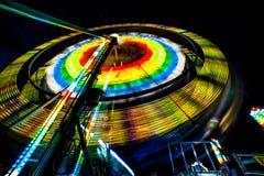Spinnendes Farris-Rad Lizenzfreie Stockfotos
