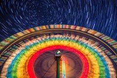 Spinnendes Farris-Rad Stockbilder