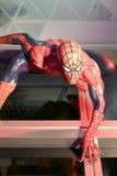 Spinnenmannwachsfigur Stockfotografie
