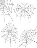 Spinnennetz-Vorratvektorillustration Lizenzfreie Stockbilder